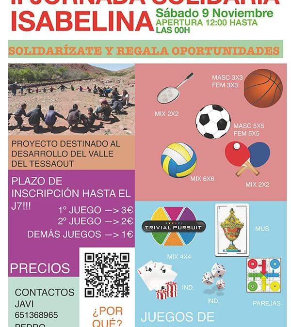 II Jornada Solidaria Isabelina