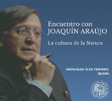 Encuentro con Joaquín Araújo