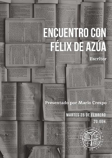 Encuentro con Félix de Azúa