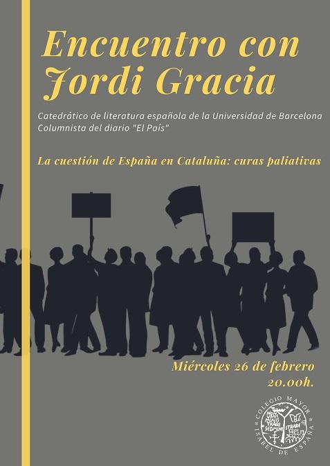 Encuentro con Jordi Gracia