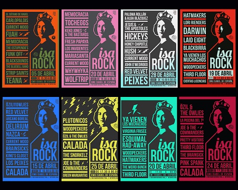 ¡Volverá la MÚSICA, Volverá el ROCK, Volverá el ISAROCK!