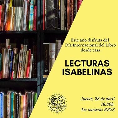 Lecturas Isabelinas en el Día Internacional del Libro