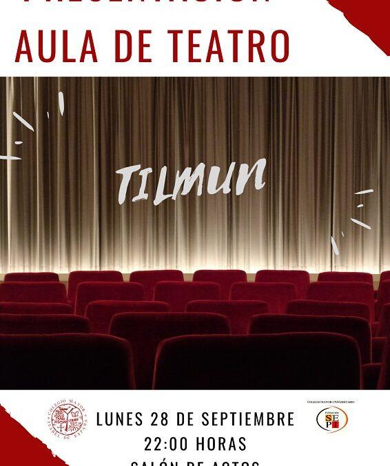 Presentación Aula de Teatro