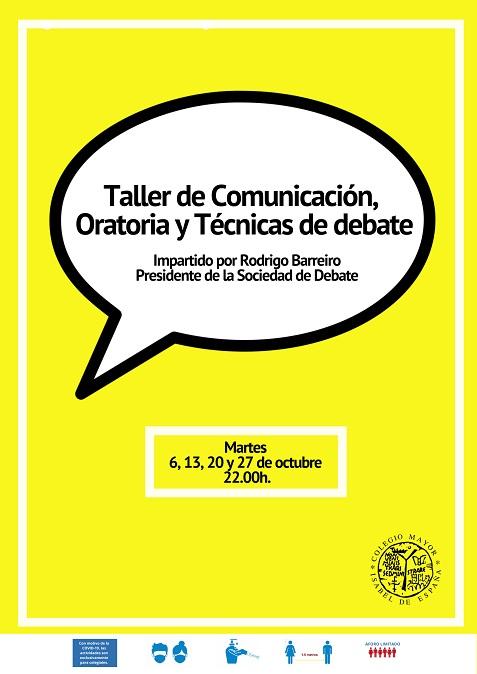Taller de Comunicación, Oratoria y Técnicas de debate
