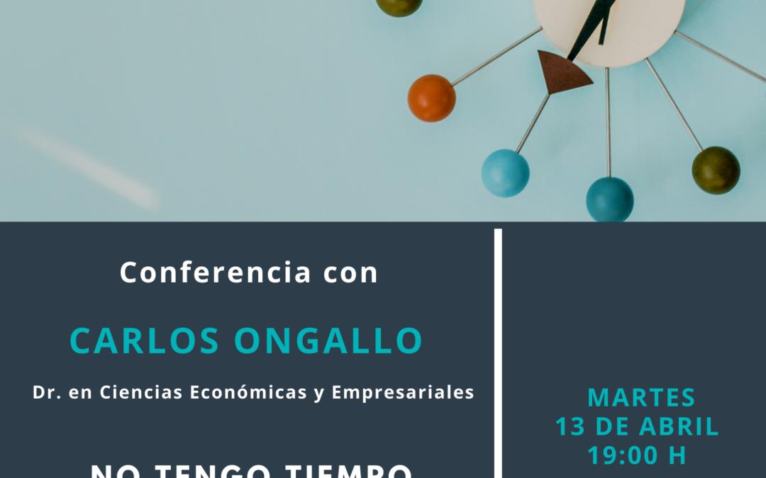 Conferencia Carlos Ongallo